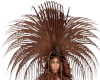 [la] Feather headress