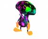Rainbow Mushroom Seat