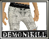 DemoniKiLL Print Pants