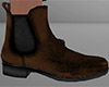 Dark Brown Ankle Boots M