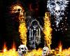 Flame and skulls [DK]