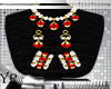 Lace Red Jewelry