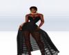 SC Black Beat Gown