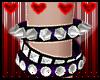 Purple Punk Bracelet L
