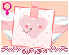 `B Post-it | Heart