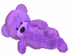 Purple Cuddle Teddy Bear