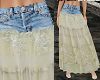 TF* Hippie jean Skirt #1