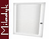 MLK White Louver Door