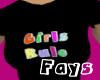 (F)Girls Rule T-shirt V2