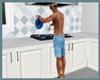 `A` Ani Blue pan