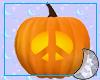 Peace Jack O Lantern