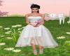 Pink/White Bridemaids