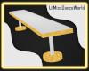 LilMiss White Bench G