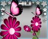 Pink Butterfly Flowers
