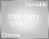 C derv emtopy  top M