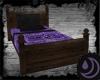 Purple & Black Bedding