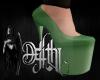 freedom heels green