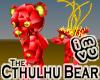 Cthulhu Bear -Ruby