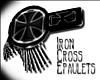 {Ivy}Iron Cross Epaulets