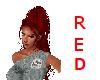 Red Long Ponytail