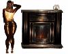 Onyx Bedroom Fireplace