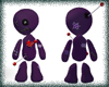 Purple Voodoo Doll