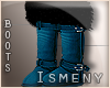 [Is] Fur Blue Boots
