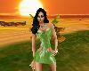 Green Minni Dress