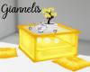 Yellow orientalTea table