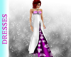 Wysteria Purple Bow Gown