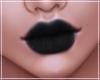-S- Black Layerable Lips