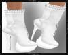 Saera White Boots