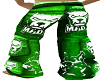 Pants MAD green M