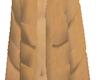 Poofy Coat Tan