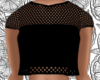 Black Net Crop