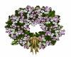 Silver n Lavendar Wreath