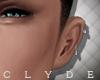 C. Ear piercings