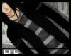 EMG Jacket-H Gray stripe