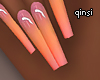 q! tropicana nails
