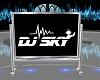 {SH} DJ Sky Sign