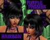 PURPLE PASSION HAIRBOW