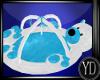 Baby bear blue playmat