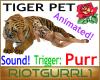 Purring Tiger Pet