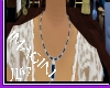 denim stone necklace