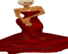 #1 Oval~Office Red Gown