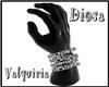 {R} Hand Bracelet