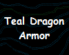 Teal Dragon Boots