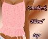 Lowback Floral Top