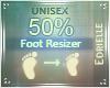 E~ Foot Scaler 50%
