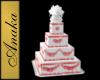Wedding Cake Pink Square